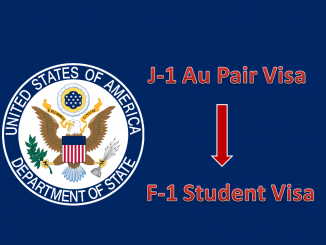 au pair amerika vizesini öğrenci vizesine çevirmek